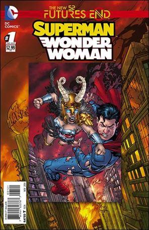 Superman/Wonder Woman: Futures End 1-B