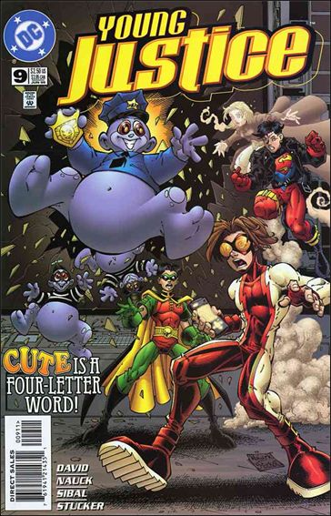 Young Justice (1998) 9-A by DC
