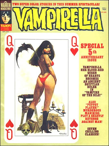 Vampirella 36-A by Warren
