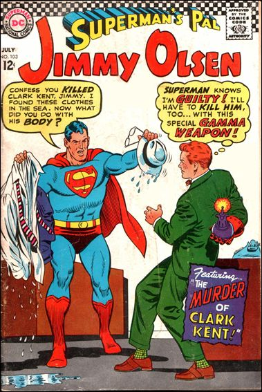 Superman's Pal Jimmy Olsen 103-A by DC