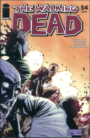Walking Dead (2003) 54-A by Skybound Entertainment