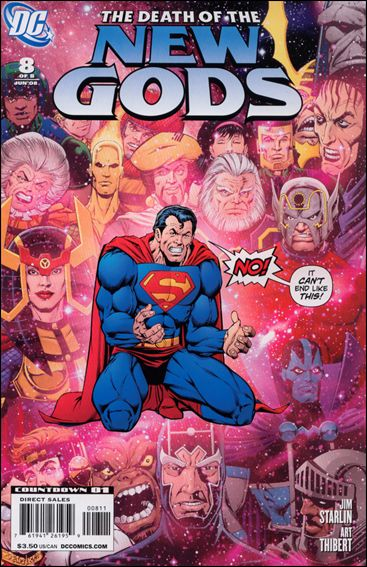 Death of the New Gods 8-A by DC