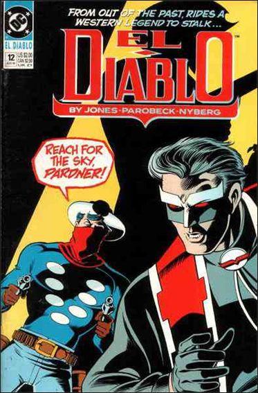 El Diablo (1989) 12-A by DC