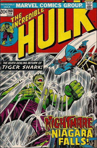 Incredible Hulk (1968) 160-A by Marvel