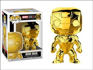 POP! Marvel Iron Man (Gold Chrome)