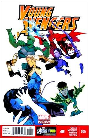 Young Avengers (2013) 5-A by Marvel