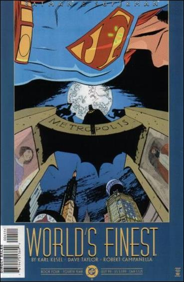 Batman and Superman: World's Finest 4-A by DC