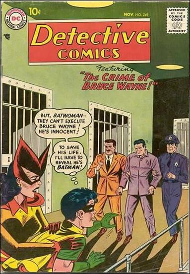 Detective Comics (1937) 249-A by DC