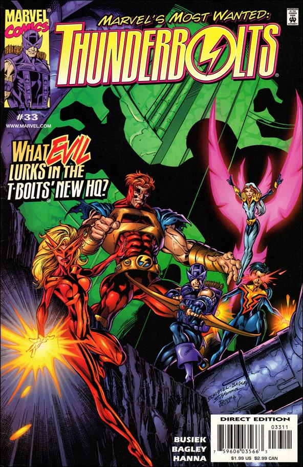 Thunderbolts (1997) 33-A by Marvel