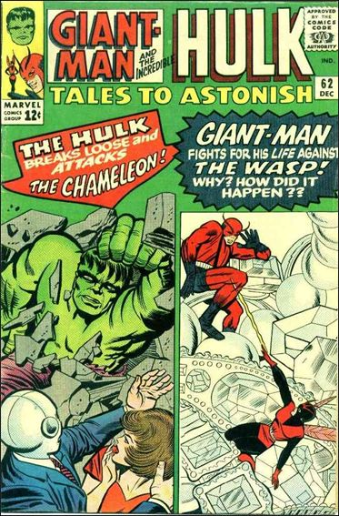 Tales to Astonish (1959) 62-A by Marvel