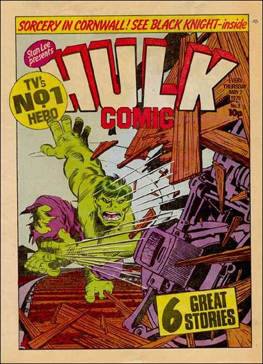 Hulk Comic (UK) 9-A by Marvel UK