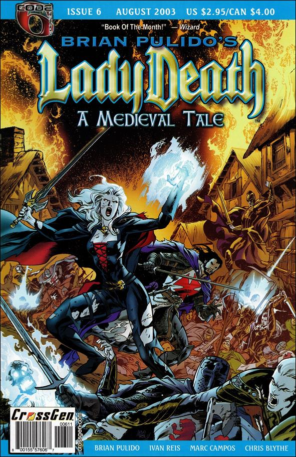Brian Pulido's Lady Death: A Medieval Tale 6-A by CrossGen
