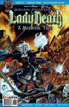 Brian Pulido's Lady Death: A Medieval Tale 6-A