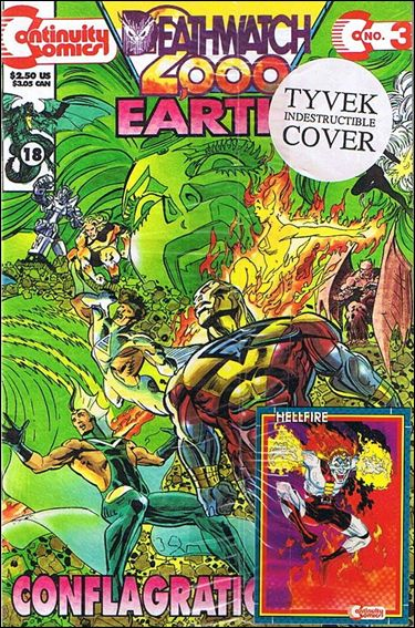 Earth 4 Deathwatch 2000 3-B by Continuity Comics