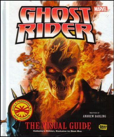Ghost Rider: The Visual Guide 1-B by DK Publishing