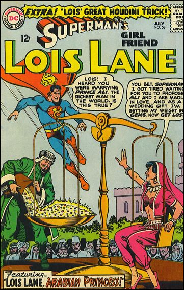 Superman's Girl Friend Lois Lane 58-A by DC