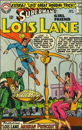 Superman's Girl Friend Lois Lane 58-A