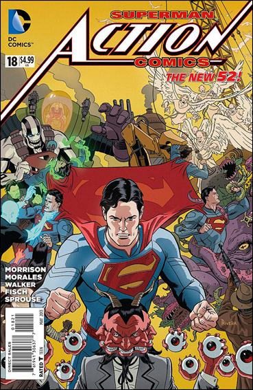 Action Comics (2011) 18-D by DC