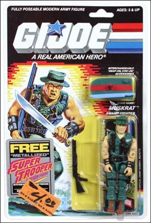 G I Joe A Real American Hero 3 Muskrat Swamp Fighter