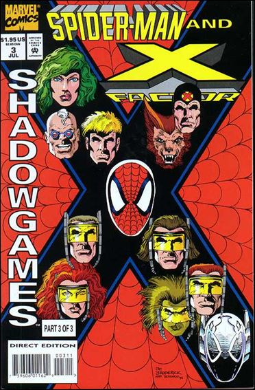 Spider-Man and X-Factor: Shadowgames 3-A by Marvel