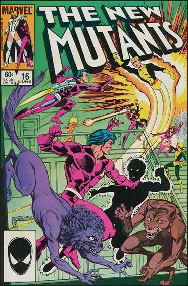 New Mutants (1983) 16-A by Marvel