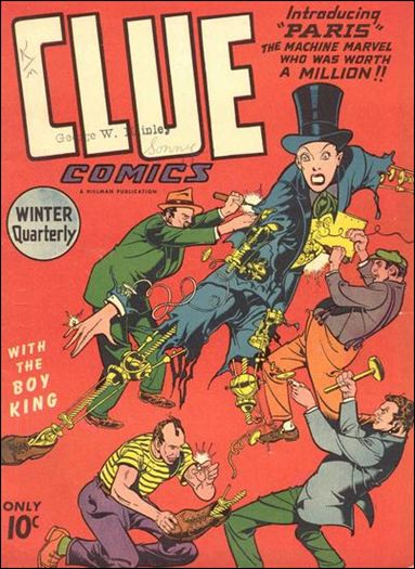 Clue Comics (1943) 9-A by Hillman