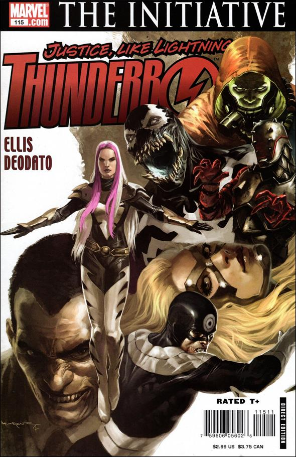 Thunderbolts (1997) 115-A by Marvel