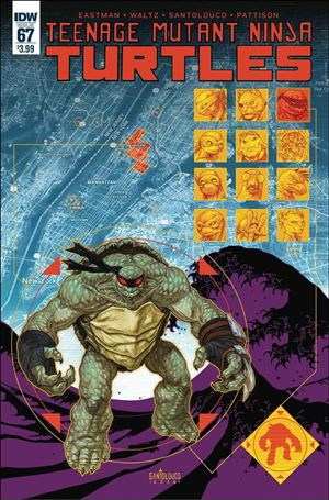 Teenage Mutant Ninja Turtles (2011) 67-A