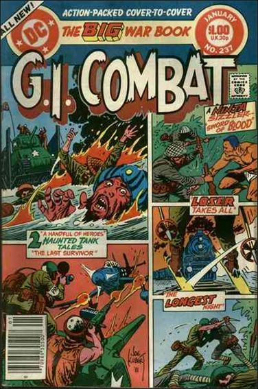 G.I. Combat (1952) 237-A by DC