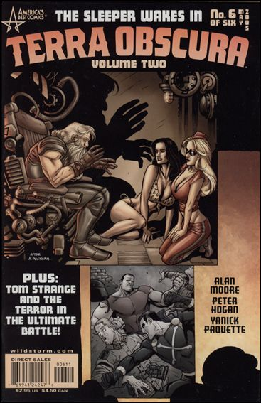 Terra Obscura (2004) 6-A by America's Best Comics