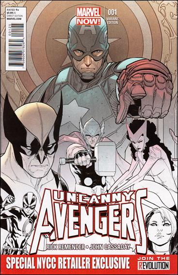 Uncanny Avengers 1-S by Marvel