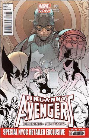 Uncanny Avengers (2012) 1-S