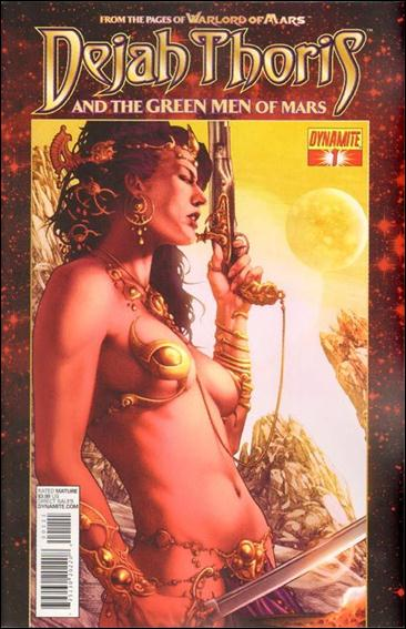 Dejah Thoris and the Green Men of Mars 1-A by Dynamite Entertainment