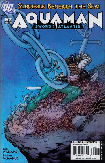 Aquaman: Sword of Atlantis 57-A by DC