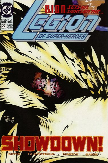 Legion of Super-Heroes (1989) 27-A by DC