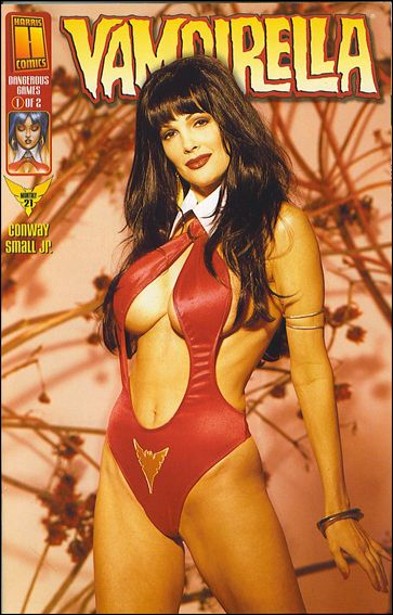 Vampirella Monthly 21-A by Harris