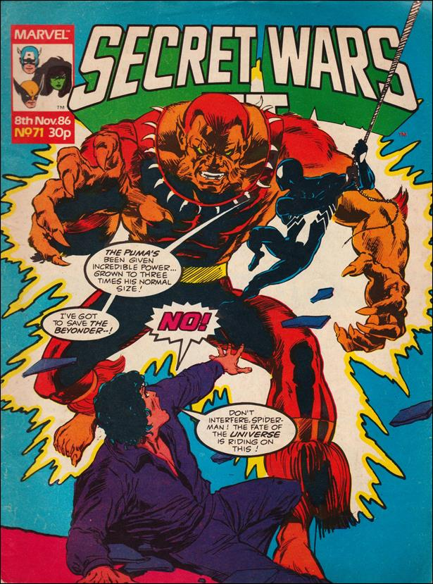 Secret Wars II (UK) 71-A by Marvel UK