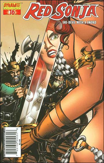 Red Sonja (2005) 16-D by Dynamite Entertainment