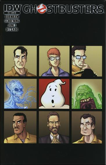 Ghostbusters (2011) 4-C by IDW