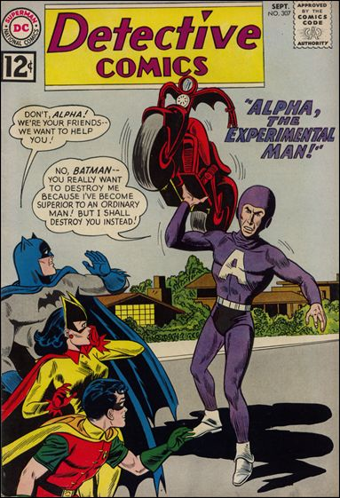 Detective Comics (1937) 307-A by DC