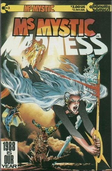 Ms. Mystic (1987) 3-A by Continuity Comics
