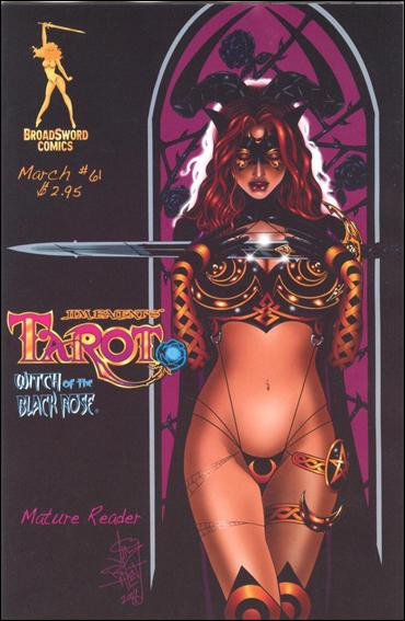 Tarot: Witch of the Black Rose 61-A by BroadSword Comics