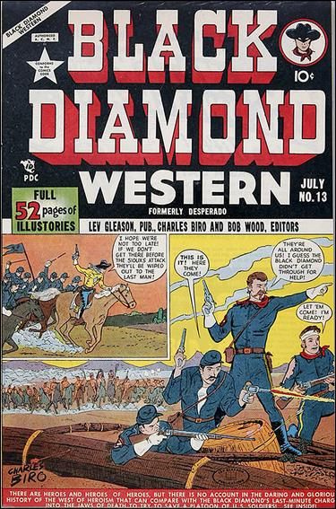 Black Diamond Western 13-A by Lev Gleason Productions