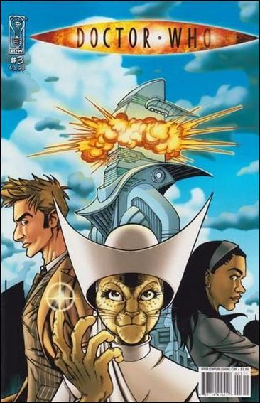Doctor Who (2008) 3-A by IDW