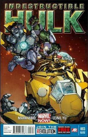 Indestructible Hulk 3-C by Marvel