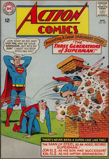 Action Comics (1938) 327-A by DC