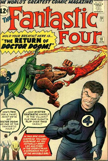 Fantastic Four (1961) 10-A by Marvel