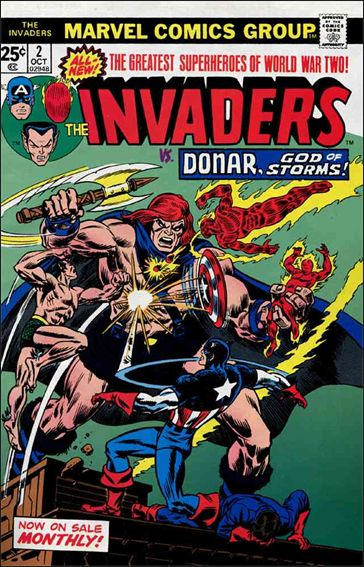Invaders (1975) 2-A by Marvel