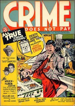 Crime Does not Pay 24-A