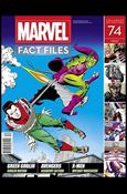 Marvel Fact Files 74-A